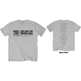 THE BEATLES Budokan Set List, Tシャツ