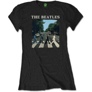 THE BEATLES Abbey Road & Logo 4, Tシャツ