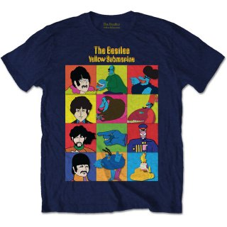 THE BEATLES Yellow Submarine Characters, Tシャツ