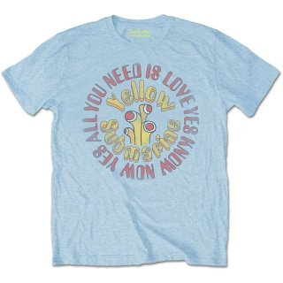 THE BEATLES Yellow Submarine Aynil Circle Vintage, Tシャツ