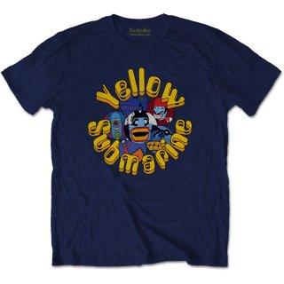 THE BEATLES Yellow Submarine Baddies, Tシャツ