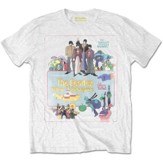 THE BEATLES Yellow Submarine Vintage Movie Poster, Tシャツ