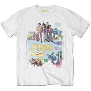 THE BEATLES Yellow Submarine Vintage Movie Poster, Tシャツ