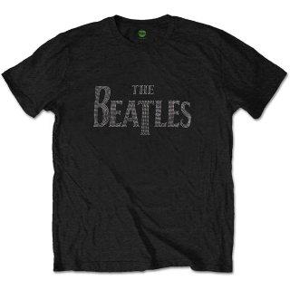 THE BEATLES Drop T Logo 8, Tシャツ