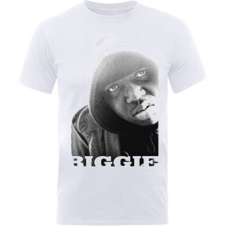 THE NOTORIOUS B.I.G. B&w Portrait, Tシャツ