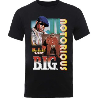 THE NOTORIOUS B.I.G. Rip Collage, Tシャツ