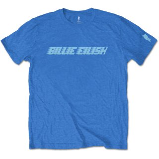 BILLIE EILISH Blue Racer Logo, Tシャツ