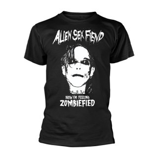 ALIEN SEX FIEND Zombiefied, Tシャツ
