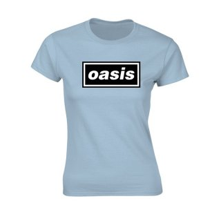 OASIS Decca Logo, レディースTシャツ