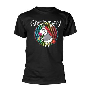 GREEN DAY Checker Unicorn, Tシャツ