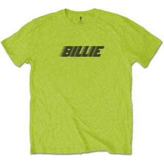 BILLIE EILISH Racer Logo & Blohsh Lime Green, Tシャツ