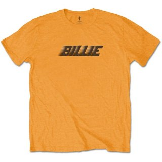 BILLIE EILISH Racer Logo & Blohsh Lime Ora, Tシャツ
