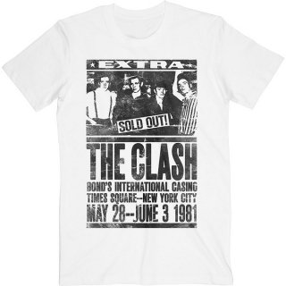 THE CLASH Bond's 1981, Tシャツ