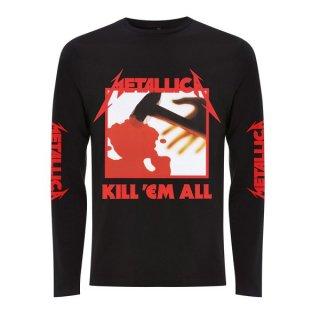 METALLICA Kill Em All Blk, ロングTシャツ