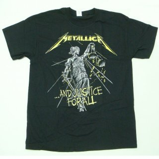 METALLICA And Justice For All Tracks, Tシャツ