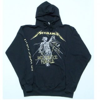 METALLICA And Justice For All Black, パーカー