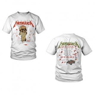 METALLICA One Landmine White, Tシャツ