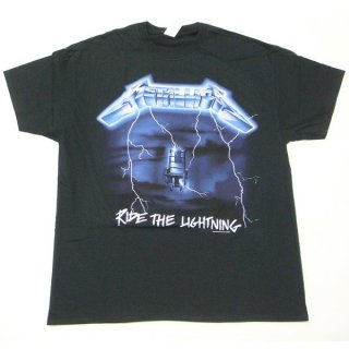 METALLICA Ride The Lightning Tracks, Tシャツ