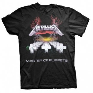 METALLICA Black Master Of Puppets, Tシャツ