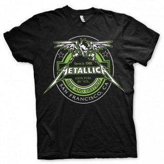 METALLICA Fuel Black, Tシャツ