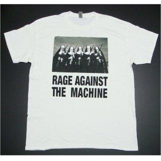 RAGE AGAINST THE MACHINE Ratm Nuns And Guns White, Tシャツ