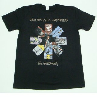 RED HOT CHILI PEPPERS Getaway Album Asterisks, Tシャツ