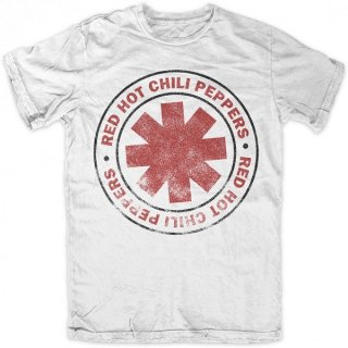 RED HOT CHILI PEPPERS Vintage Classic White, Tシャツ
