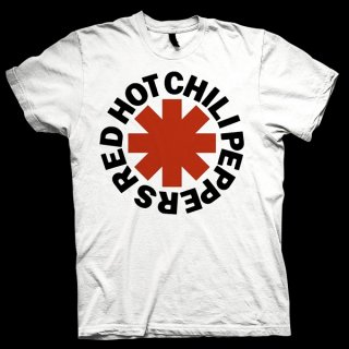 RED HOT CHILI PEPPERS Red Asterisk White, Tシャツ