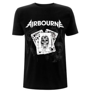 AIRBOURNE Playing Cards Black, Tシャツ