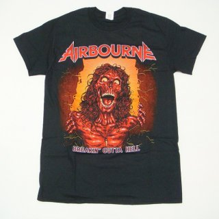 AIRBOURNE Boh Skeleton Black, Tシャツ