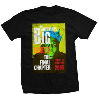 THE NOTORIOUS B.I.G. Final Chapter, Tシャツ<img class='new_mark_img2' src='https://img.shop-pro.jp/img/new/icons5.gif' style='border:none;display:inline;margin:0px;padding:0px;width:auto;' />