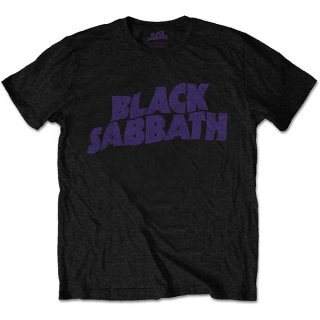 BLACK SABBATH Wavy Logo Vintage Blk, Tシャツ<img class='new_mark_img2' src='https://img.shop-pro.jp/img/new/icons5.gif' style='border:none;display:inline;margin:0px;padding:0px;width:auto;' />
