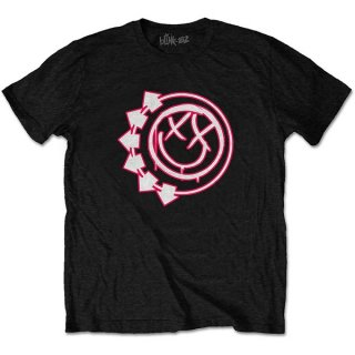 BLINK-182 Six Arrow Smiley, Tシャツ<img class='new_mark_img2' src='https://img.shop-pro.jp/img/new/icons5.gif' style='border:none;display:inline;margin:0px;padding:0px;width:auto;' />