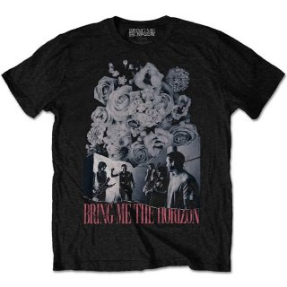 BRING ME THE HORIZON Flowers, Tシャツ<img class='new_mark_img2' src='https://img.shop-pro.jp/img/new/icons5.gif' style='border:none;display:inline;margin:0px;padding:0px;width:auto;' />