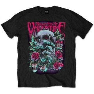 BULLET FOR MY VALENTINE Skull Red Eyes, Tシャツ<img class='new_mark_img2' src='https://img.shop-pro.jp/img/new/icons5.gif' style='border:none;display:inline;margin:0px;padding:0px;width:auto;' />
