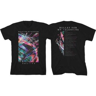 BULLET FOR MY VALENTINE Gravity Euro Tour 2018, Tシャツ<img class='new_mark_img2' src='https://img.shop-pro.jp/img/new/icons5.gif' style='border:none;display:inline;margin:0px;padding:0px;width:auto;' />