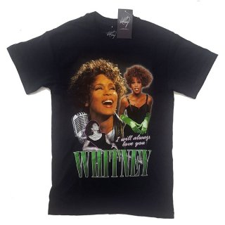 WHITNEY HOUSTON Always Love You Homage, Tシャツ
