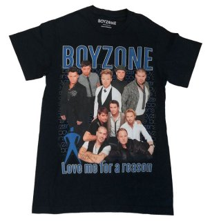 BOYZONE Love Me For A Reason Homage, Tシャツ