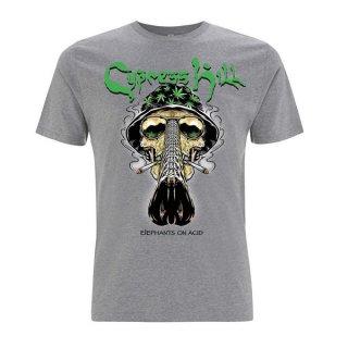 CYPRESS HILL Skull Bucket Grey, Tシャツ