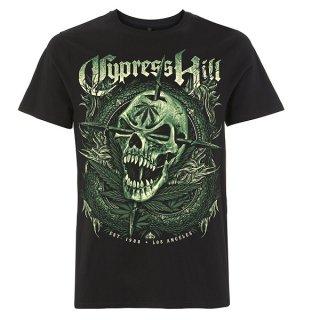 CYPRESS HILL Fangs Black, Tシャツ