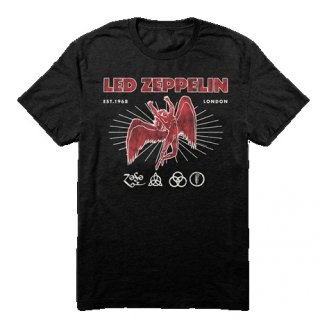 LED ZEPPELIN 50th Anniversary, Tシャツ