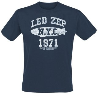 LED ZEPPELIN Nyc 1971 Navy, Tシャツ