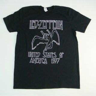 LED ZEPPELIN Usa 1977, Tシャツ