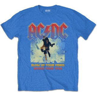 AC/DC Blow Up Your Video Blu, Tシャツ<img class='new_mark_img2' src='https://img.shop-pro.jp/img/new/icons5.gif' style='border:none;display:inline;margin:0px;padding:0px;width:auto;' />