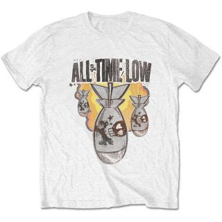 ALL TIME LOW Da Bomb Wht, Tシャツ<img class='new_mark_img2' src='https://img.shop-pro.jp/img/new/icons5.gif' style='border:none;display:inline;margin:0px;padding:0px;width:auto;' />