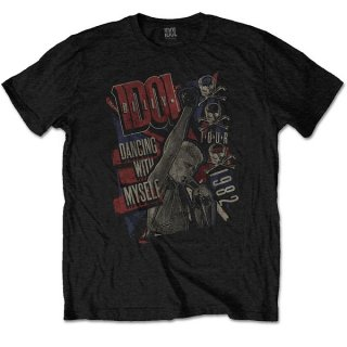 BILLY IDOL Dancing With Myself, Tシャツ<img class='new_mark_img2' src='https://img.shop-pro.jp/img/new/icons5.gif' style='border:none;display:inline;margin:0px;padding:0px;width:auto;' />