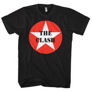 THE CLASH Star Badge, Tシャツ<img class='new_mark_img2' src='https://img.shop-pro.jp/img/new/icons5.gif' style='border:none;display:inline;margin:0px;padding:0px;width:auto;' />
