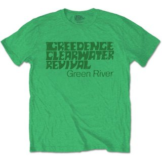 CREEDENCE CLEARWATER REVIVAL Green River, Tシャツ<img class='new_mark_img2' src='https://img.shop-pro.jp/img/new/icons5.gif' style='border:none;display:inline;margin:0px;padding:0px;width:auto;' />