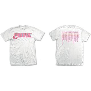 THE CURE Neon Logo Wht, Tシャツ<img class='new_mark_img2' src='https://img.shop-pro.jp/img/new/icons5.gif' style='border:none;display:inline;margin:0px;padding:0px;width:auto;' />