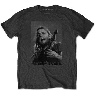 DAVID GILMOUR On Microphone Half-tone, Tシャツ<img class='new_mark_img2' src='https://img.shop-pro.jp/img/new/icons5.gif' style='border:none;display:inline;margin:0px;padding:0px;width:auto;' />